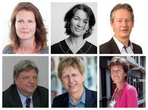 Wim Gorissen, Karien Stronks, Agnes van der Poel, Niek Klazinga, Lex Burdorf en Ninette van Hasselt