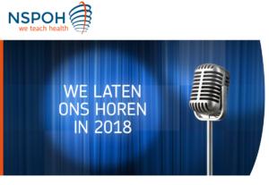 we laten ons horen in 2018 - NSPOH